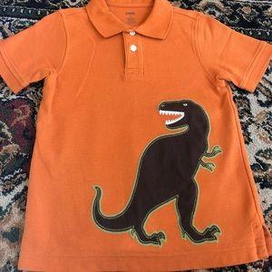 Gymboree Dinosaur polo